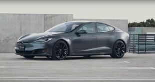 Project Battleship T Sportline Tesla Model S Mattgrau 7 310x165 Project Battleship   T Sportline Tesla Model S in Mattgrau