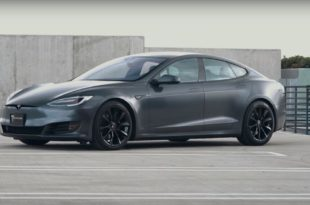 Project Battleship T Sportline Tesla Model S Mattgrau 7 310x205 Project Battleship   T Sportline Tesla Model S in Mattgrau