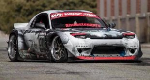 Rocket Bunny Mazda RX 7 Folierung Tuning 4 310x165 Weathered Electric Apocalypse Look am Skepple BMW I3