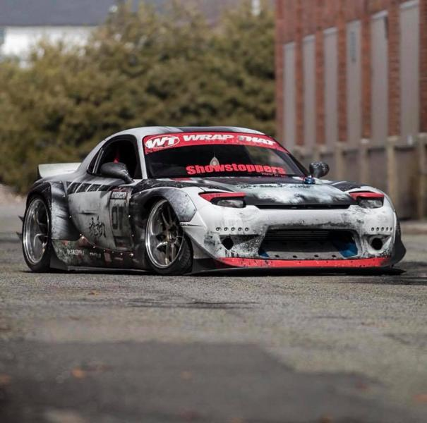 2018 Mazda Rx7 >> Without words - Rocket Bunny Mazda RX-7 with crazy foliation - tuningblog.eu - Magazine