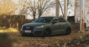Top Secret Tuning Audi Q2 Airride LV2 Tuning 1 310x165 Mega   Top Secret Tuning Audi Q2 mit Airride & LV2 Alus