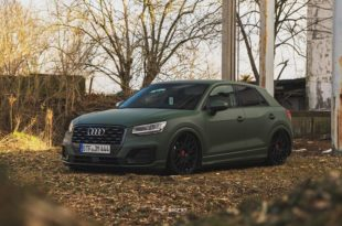 Top Secret Tuning Audi Q2 Airride LV2 Tuning 1 310x205 Mega   Top Secret Tuning Audi Q2 mit Airride & LV2 Alus