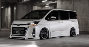 Toyota Noah Facelift R80 Bodykit Tuning 1 310x165 Fertig   Kuhl Racing 2019 Suzuki Swift Sport mit Bodykit
