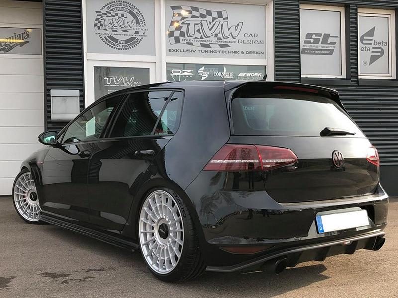 mega vw golf 7 gti mit kw fahrwerk rotiform alus magazin. Black Bedroom Furniture Sets. Home Design Ideas