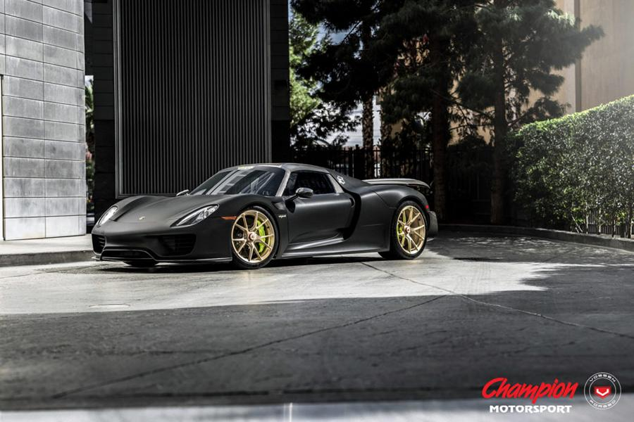 vossen wheels rs74 felgen porsche 918 spyder tuning. Black Bedroom Furniture Sets. Home Design Ideas
