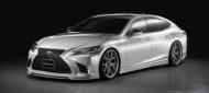 Wald International Bodykit LEXUS LS 500h Tuning 2018 1 190x85 Perfekt   Wald Internationale Bodykit am LEXUS LS 500h