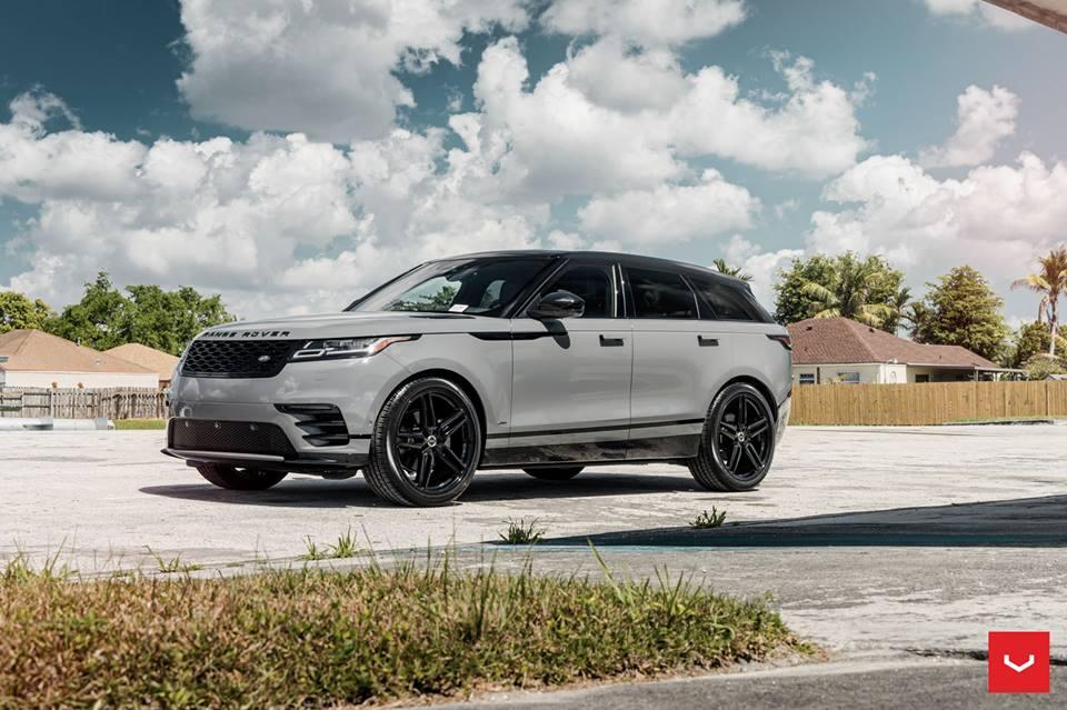 2018 Range Rover Velar Vossen HF 1 Felgen Tuning 1 Highlight   2018 Range Rover Velar auf Vossen HF 1 Felgen