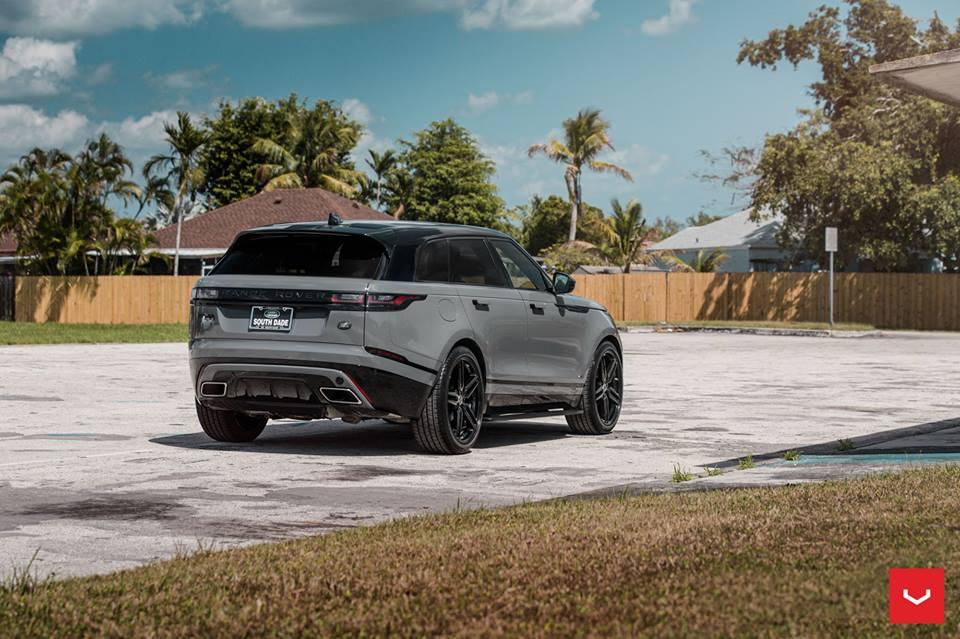 2018 Range Rover Velar Vossen HF 1 Felgen Tuning 12 Highlight   2018 Range Rover Velar auf Vossen HF 1 Felgen