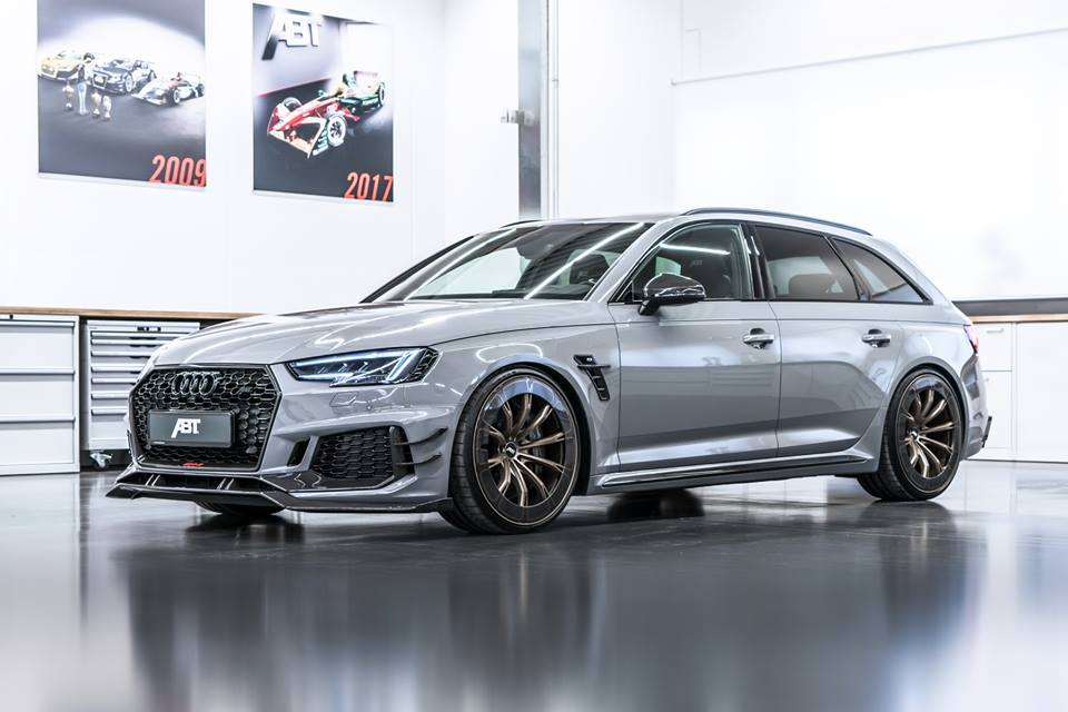 ABT Audi RS4 R Aerorad Konzeptstudie 2018 Tuning 1 1.410 PS   ABT Sportsline Audi AS400, AS4R & RS4 R