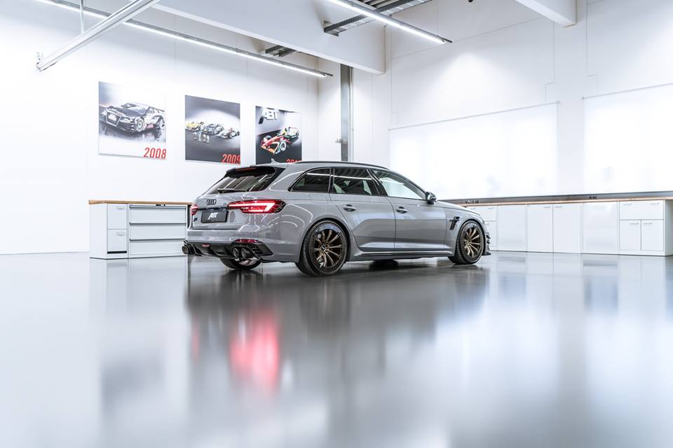 ABT Audi RS4 R Aerorad Konzeptstudie 2018 Tuning 2 1.410 PS   ABT Sportsline Audi AS400, AS4R & RS4 R