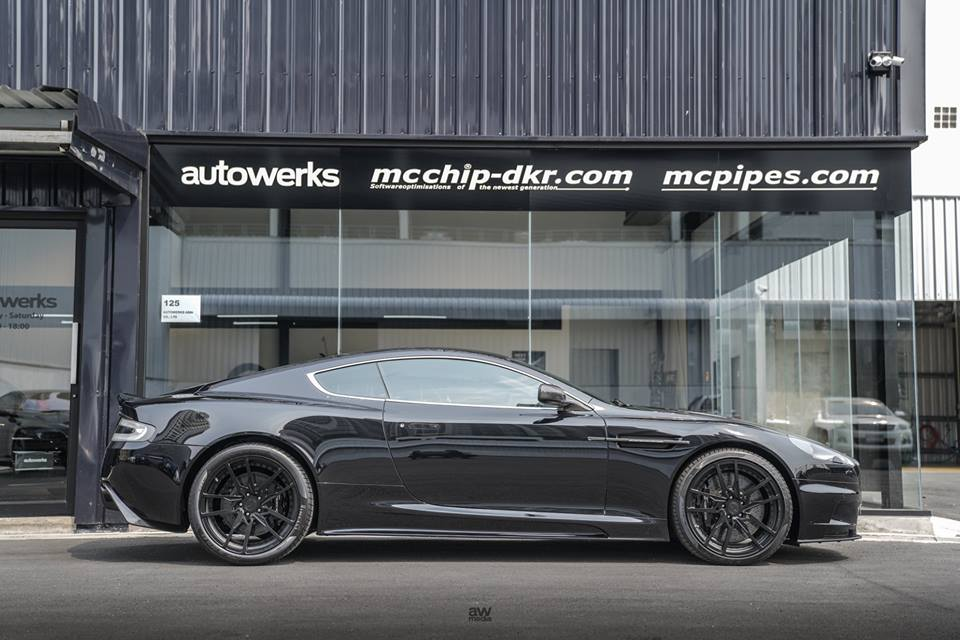AMP Forged 5V Felgen Aston Martin DB9 Tuning 4 AMP Forged 5V Felgen am schicken Aston Martin DB9