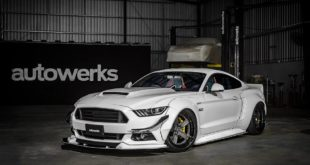 Alpha X Widebody Ford Mustang GT AMP 5C Felgen 3 310x165 Mächtig   Fortune Flares Ford Focus RS & ST Widebody