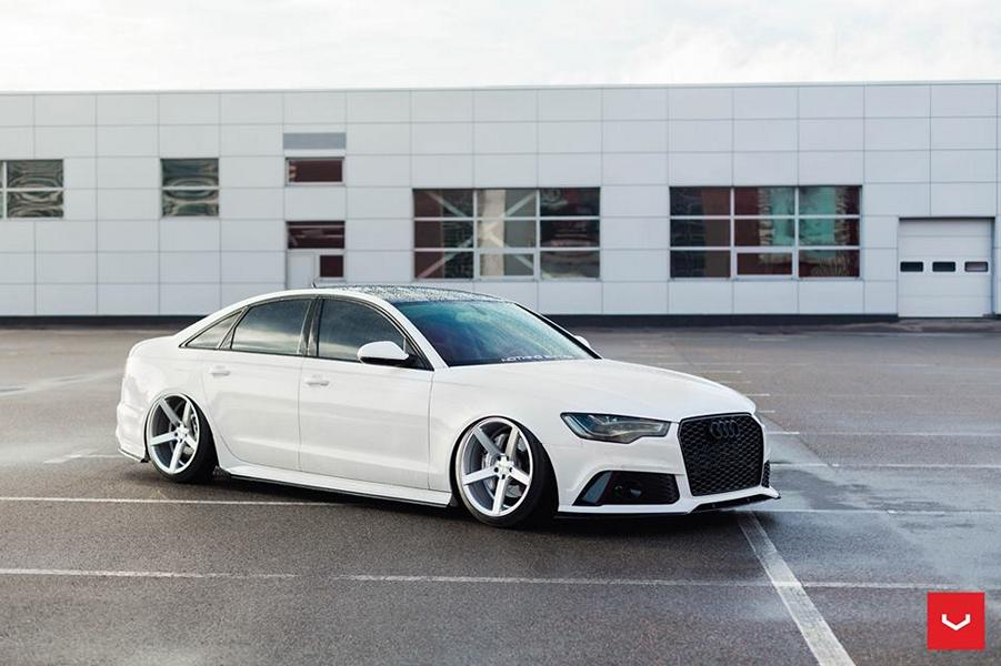 sautief audi a6 limousine c7 auf vossen cv3 r felgen. Black Bedroom Furniture Sets. Home Design Ideas