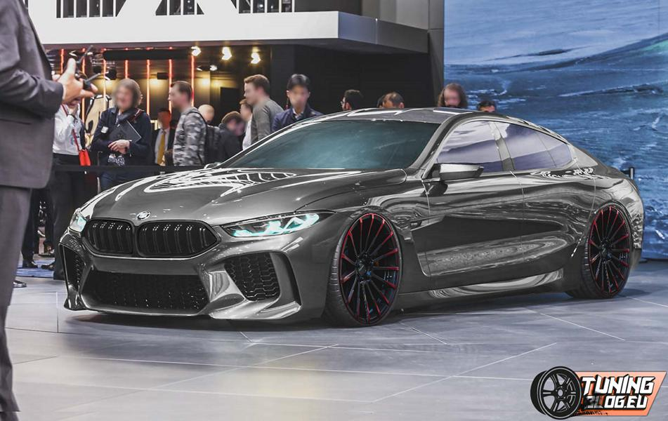 Bitterböse Bmw Concept M8 Gran Coupe 2018 By Tuningblog