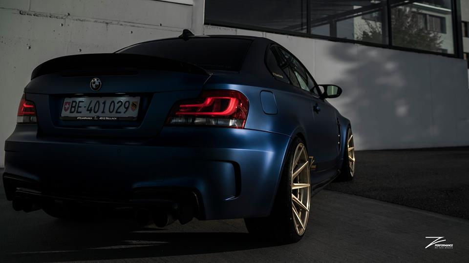 BMW E82 1M Coupe Z Performance Tuning 2 WOW   BMW E82 1M Coupe auf Z Performance Wheels