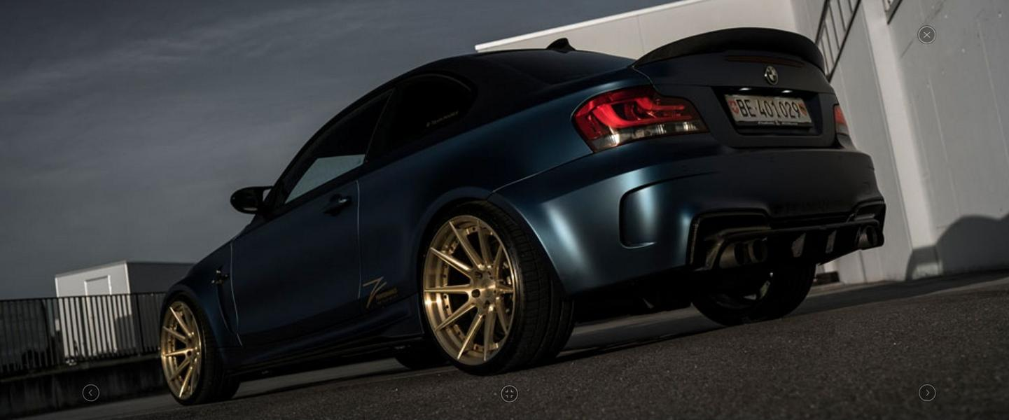 BMW E82 1M Coupe Z Performance Tuning 5 WOW   BMW E82 1M Coupe auf Z Performance Wheels