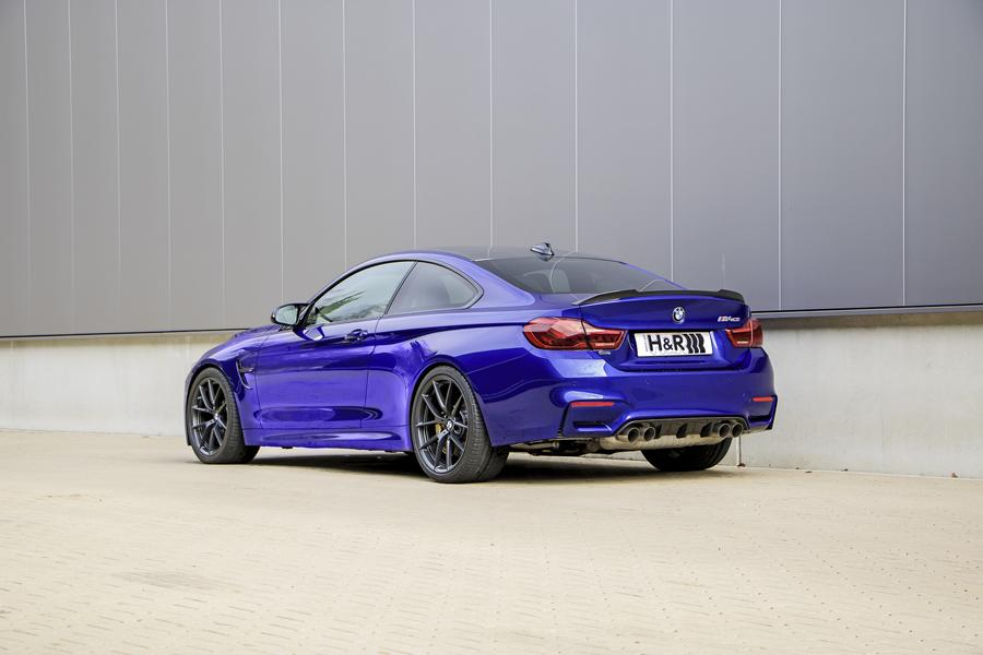 BMW M4 CS F82 Coupe HR Sportfedern Tuning 1 Perfektion BMW M4 CS Coupe mit H&R Sportfedern