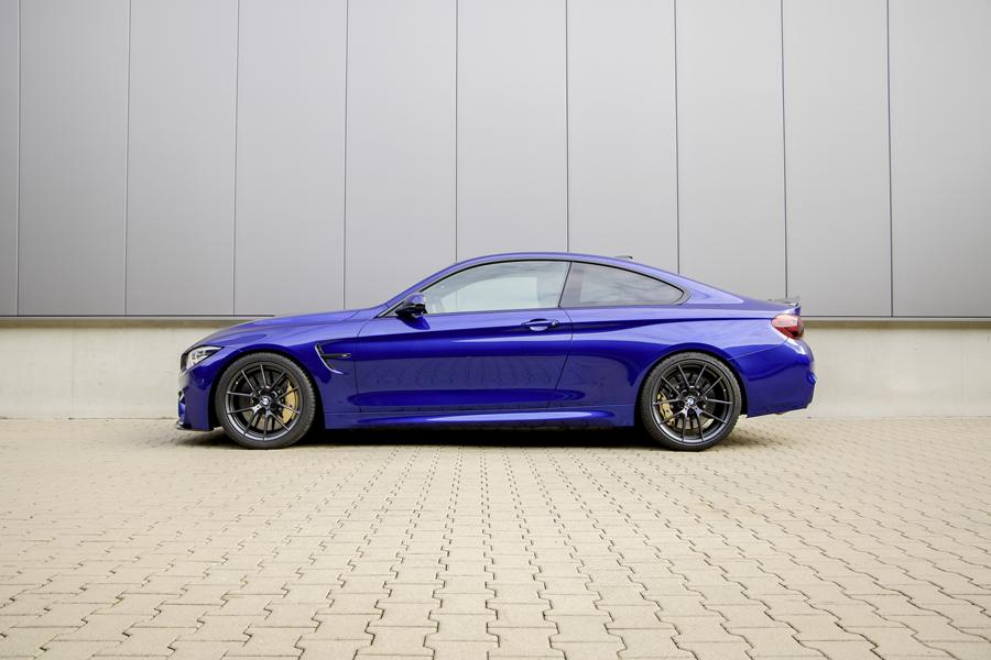 BMW M4 CS F82 Coupe HR Sportfedern Tuning 3 Perfektion BMW M4 CS Coupe mit H&R Sportfedern