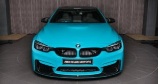 BMW M4 Coupe Miami Blue Vorsteiner Akrapovic Tuning 20 310x165 AC Schnitzer BMW M550i xDrive by Abu Dhabi Motors