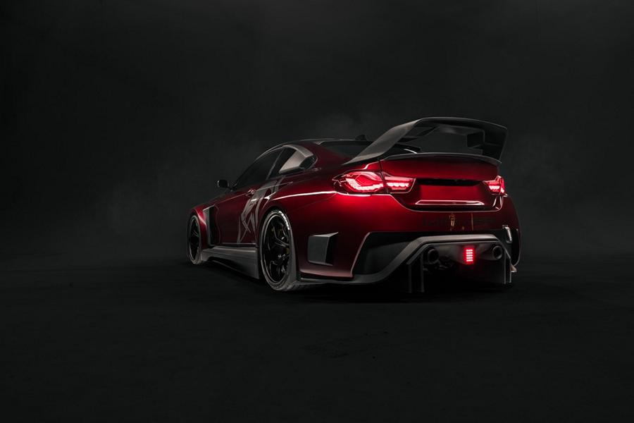 BMW M4 Mamba GT3 F82 Widebody Tuning Hoffy 11 Realität   Hoffy Automobiles 710 PS BMW M4 Mamba GT3