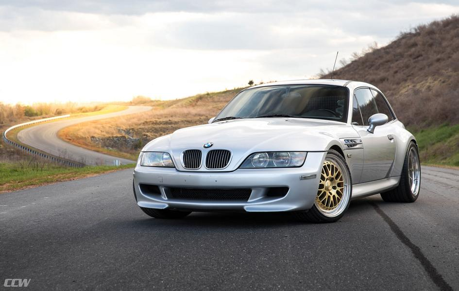Classic Bmw Z3 M Coupe On Discreet Ccw Lm20 Rims
