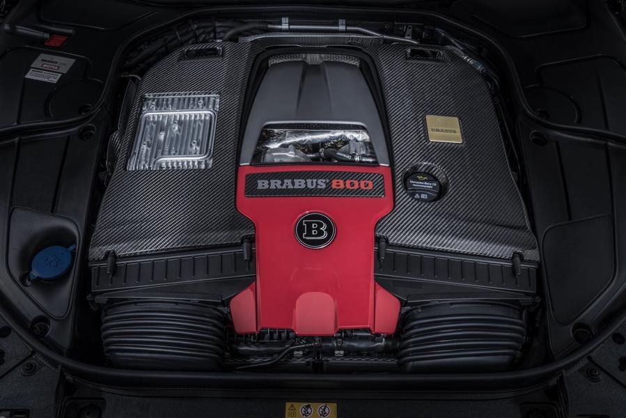 BRABUS 800 auf Mercedes S 63 4MATIC W222 Tuning 10 Luxusliner   BRABUS 800 auf Basis Mercedes S63 4MATIC+