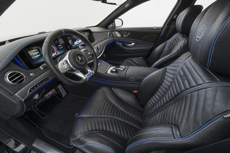 BRABUS 800 auf Mercedes S 63 4MATIC W222 Tuning 15 Luxusliner   BRABUS 800 auf Basis Mercedes S63 4MATIC+