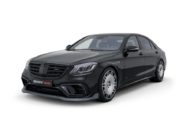BRABUS 800 auf Mercedes S 63 4MATIC W222 Tuning 5 190x127 Luxusliner   BRABUS 800 auf Basis Mercedes S63 4MATIC+