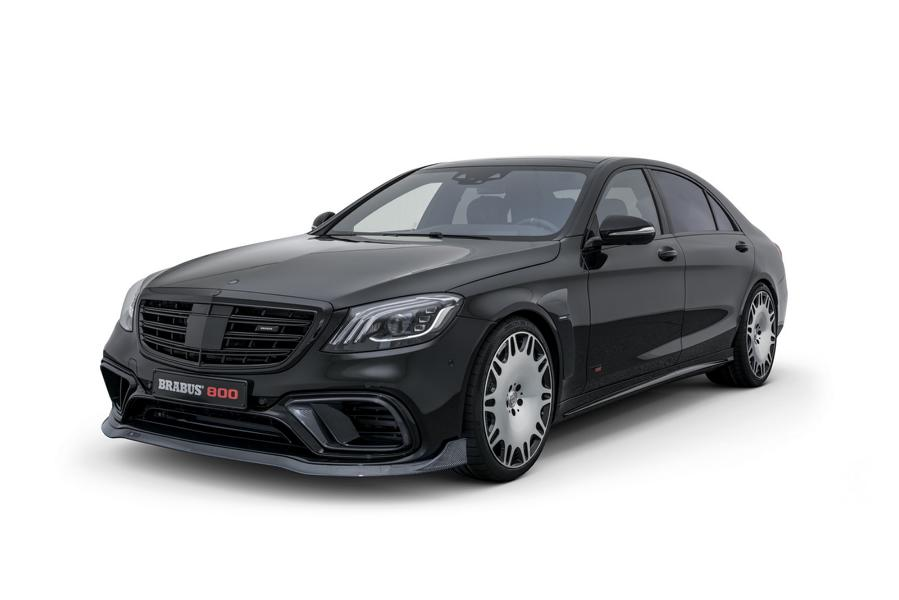 BRABUS 800 auf Mercedes S 63 4MATIC W222 Tuning 5 Luxusliner   BRABUS 800 auf Basis Mercedes S63 4MATIC+