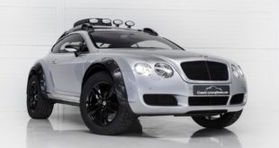 Bentley Continental GT Offroad Tuning 2018 1 310x165 Nobel ins Gelände   560 PS Bentley Continental GT Offroad