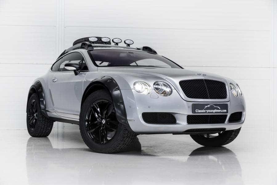 Bentley Continental GT Offroad Tuning 2018 1 Nobel ins Gelände   560 PS Bentley Continental GT Offroad