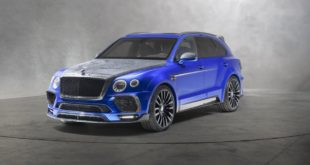 Bleurion Edition Mansory Bentley Bentayga Tuning 1 310x165 Carbon geht immer   Mansory Porsche 911 (991) Turbo / S