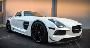 Brabus Mercedes SLS AMG Black Series HRE RS309M Tuning 1 310x165 Mega Brabus Mercedes SLS AMG on HRE RS309M rims