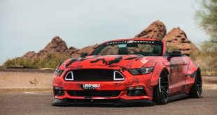 Creative Bespoke Widebody Ford Mustang Cabrio Tuning 22 310x165 High End Tuning: SVR 488 Bodykit am Ferrari 488 GTB