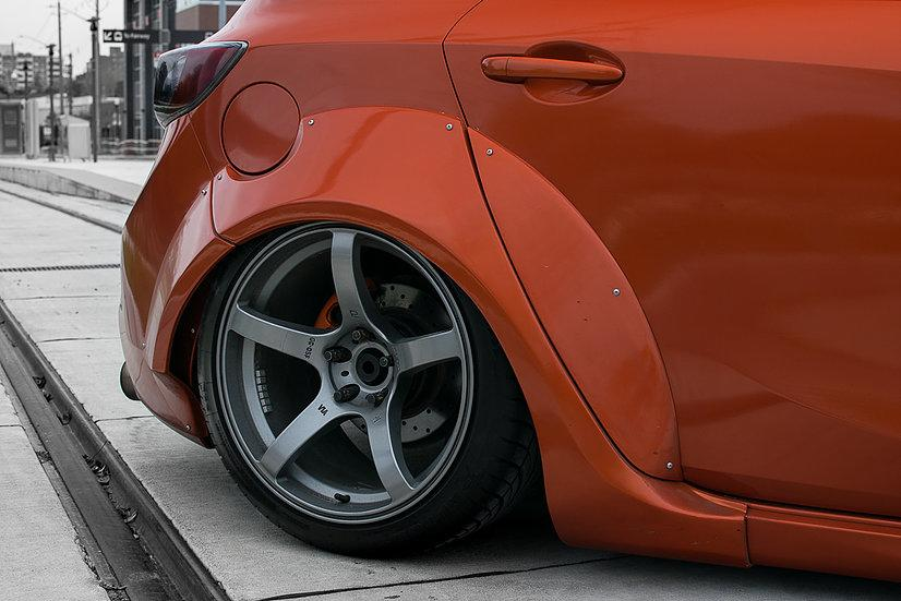 FORTUNE FLARES Widebody Mazda 3 Tuning 10 Mehr geht nicht   FORTUNE FLARES Widebody Mazda 3
