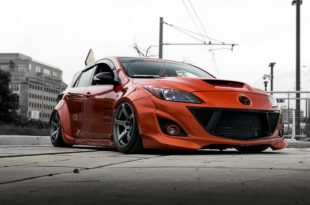 FORTUNE FLARES Widebody Mazda 3 Tuning 3 310x205 Mehr geht nicht   FORTUNE FLARES Widebody Mazda 3