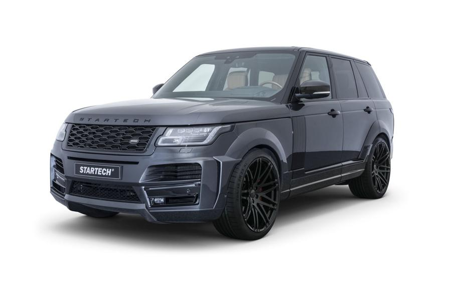 Facelift Range Rover Sport Widebody Tuning STARTECH 2018 2 Range Rover Sport Facelift mit Widebody Kit by STARTECH
