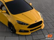 Ford Focus MK3 STR FL Edition Widebody Kit Fortune Flares Tuning 6 190x143 Mächtig   Fortune Flares Ford Focus RS & ST Widebody
