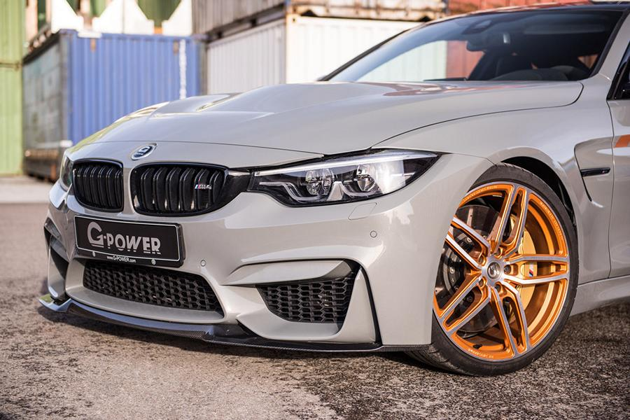 G Power BMW M4 F82 CS Tuning 2018 10 600 PS im BMW M4 Sondermodell CS vom Tuner G Power