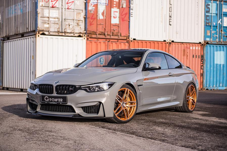 G Power BMW M4 F82 CS Tuning 2018 8 600 PS im BMW M4 Sondermodell CS vom Tuner G Power