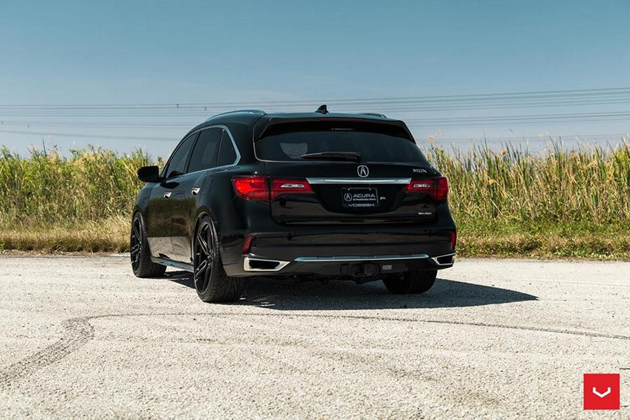 Hybrid Forged HF Rims From Vossen On Acura MDX Tuningblogeu - Acura mdx coilovers