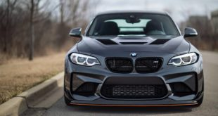 IND Distribution BMW M2 F87 30th Tuning Bodykit Carbon 2 310x165 BMW M2 (F87) in Long Beach Blue auf Forgestar S18 Felgen