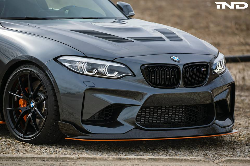 IND Distribution BMW M2 F87 30th Tuning Bodykit Carbon 6 iND Distribution   BMW M2 F87 Coupe im GTS M4 Style