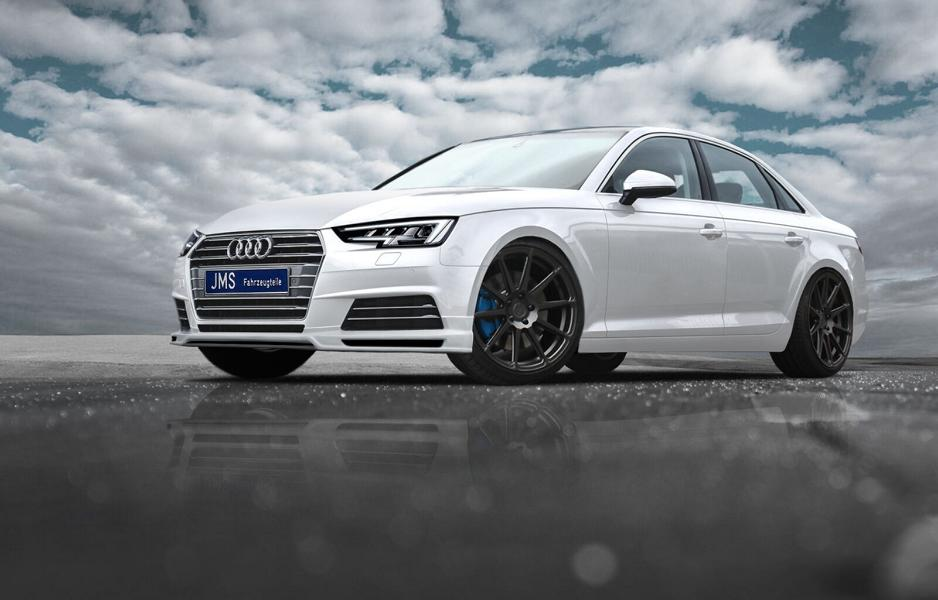 JMS Racelook Bodykit Audi A4 B9 Tuning 1 Auch ohne S line Paket   JMS Racelook Bodykit am Audi A4 B9