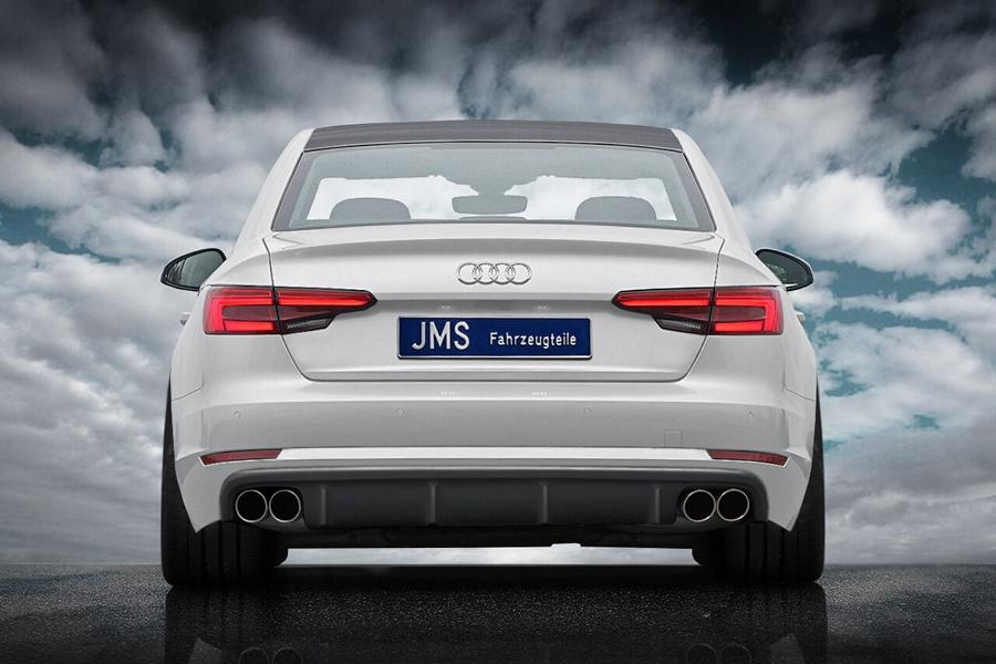 JMS Racelook Bodykit Audi A4 B9 Tuning 2 Auch ohne S line Paket   JMS Racelook Bodykit am Audi A4 B9