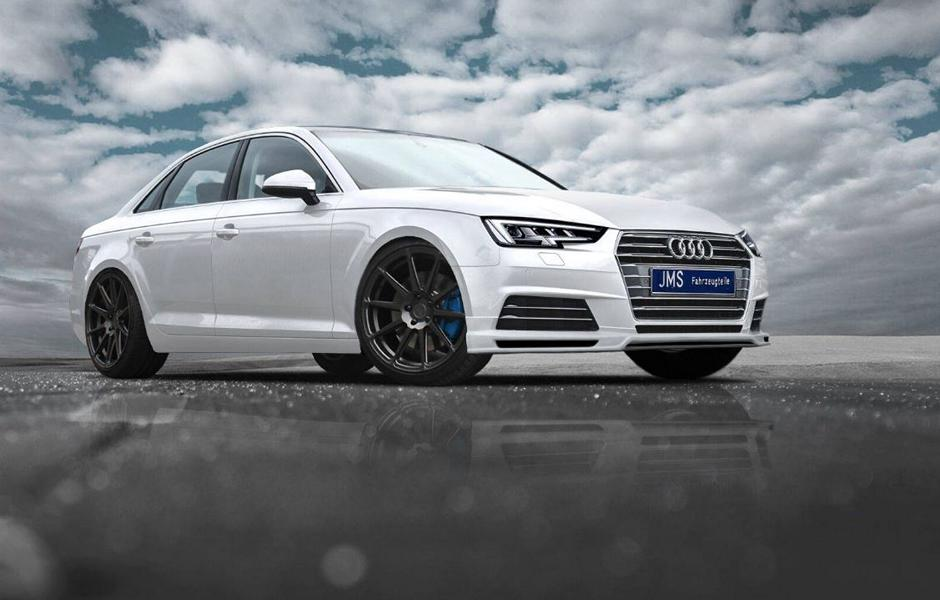 JMS Racelook Bodykit Audi A4 B9 Tuning 3 Auch ohne S line Paket   JMS Racelook Bodykit am Audi A4 B9