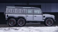 Kahn 6x6 Civilian Carrier Defender Tuning 2018 3 190x107 Mega   Kahn 6x6 Civilian Carrier Defender Umbau in Genf