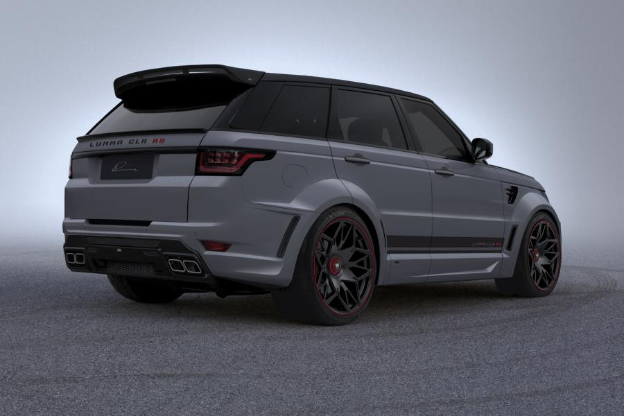 lumma clr rs bodykit range rover sport facelift 2018 tuning 2 magazine. Black Bedroom Furniture Sets. Home Design Ideas