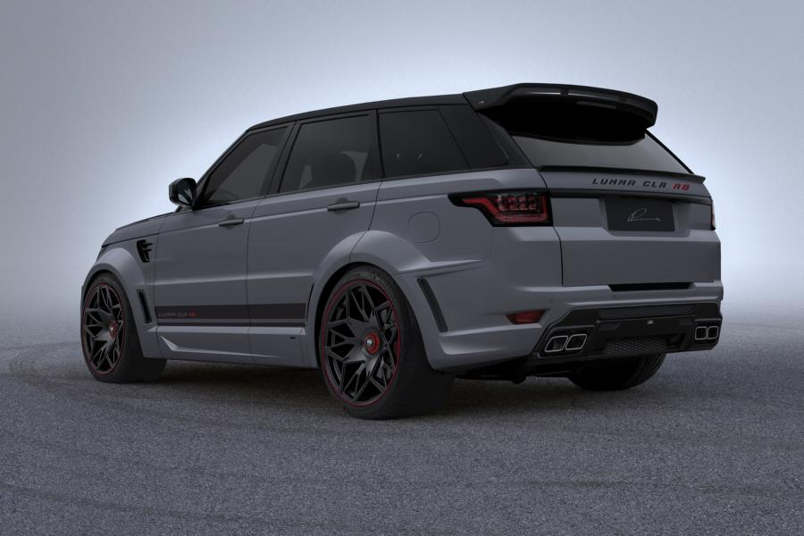 lumma clr rs bodykit range rover sport facelift 2018 tuning 4 magazine. Black Bedroom Furniture Sets. Home Design Ideas