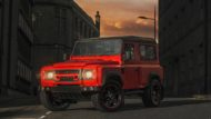 Land Rover Defender Final Edition Lava Orange Kahn Design 1 190x107 Land Rover Defender Final Edition in Lava Orange by Kahn